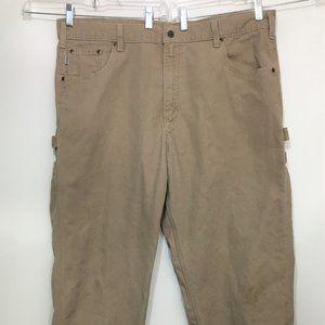Carhartt 40 x 32 Loose Fit Canvas Carpenter Jeans